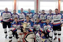 HC Rakon Domažlice, vítěz Chodské ligy 2009/2010.