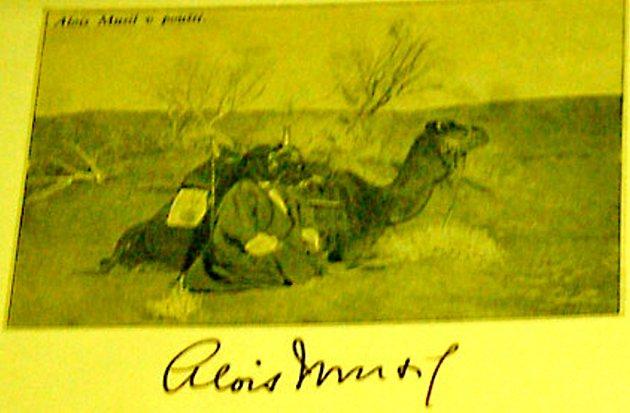 Vzácný podpis Aloise Musila.
