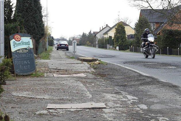 V rámci úprav bude v Prapořištích vybudován nový cyklochodník.