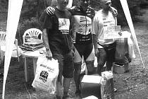 Domažlický triatlonista Norbert Švarc vyhrál ve veteránské kategorii závod v Mariánských Lázních.