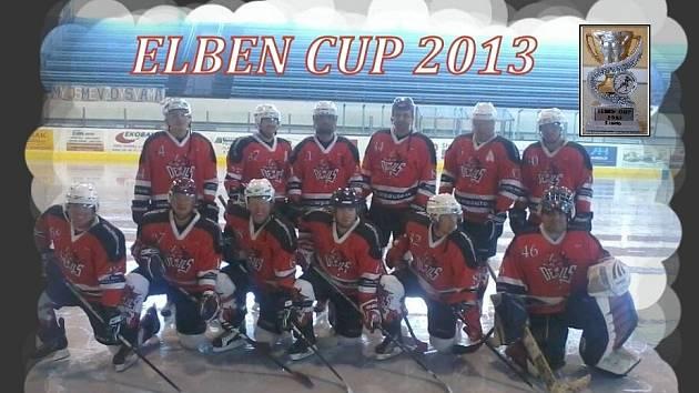Hokejisté AHC Devils Domažlice na turnaji v Českých Budějovicích.
