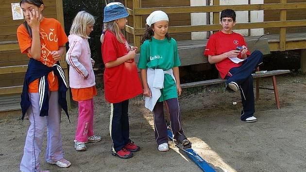 Letní tábor v Újezdě 2010.