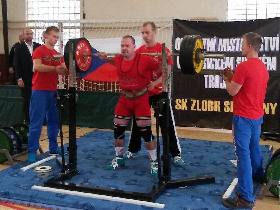 Luboš Rada (Fitness Club Staňkov), čtvrtý na Mistrovství západních Čech.