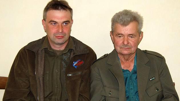 Petr Štauber a Vladimír Vlček.