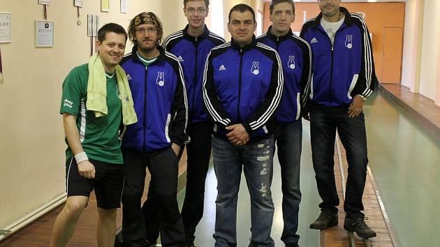 Druhý nejlepší tým Západočeské divize sezony 2014/2015 - Kuželky Holýšov A.