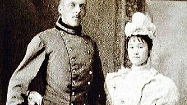 Heinrich Coudenhove-Kalergi a Mitsuko Aoyama.