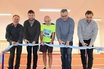 Z otevření nového Sportovního centra na domažlické Střelnice.