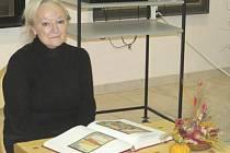Věra Kubová přednášela v domažlické galerii o Josefu Váchalovi.