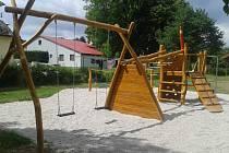 Nové dětské hřiště v Hlohové.
