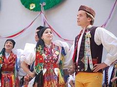 Klenotnicový pořad je tradičním vyvrcholením Chodských slavností.