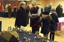 Výstava domažlickáých betlémů v Ludres.