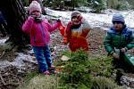 Děti z Mateřské školy v Kolovči.