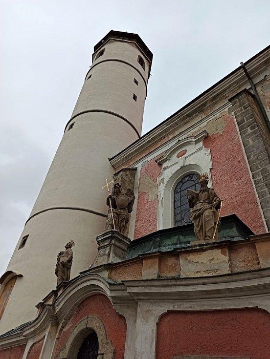 Domažlická šikmá věž.