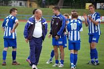 Fotbalisté divizní Jiskry Domažlice porazili Benešov.