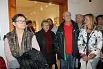 Vernisáž výstavy se konala 14. ledna v Chodském hradě.