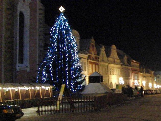 Vánoční strom - ilustrační foto.