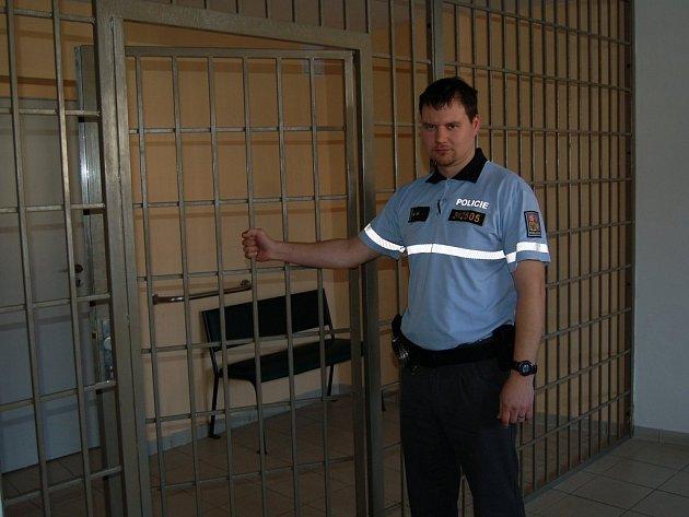Prohlídka policejních cel