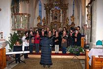 Z koncertu Canzonetty v loučimském kostele Narození Panny Marie