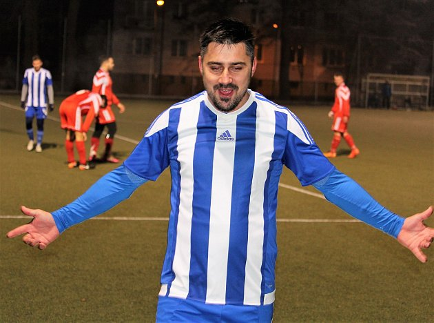 Českokubický fotbalový fantom Jaroslav Krakeš.