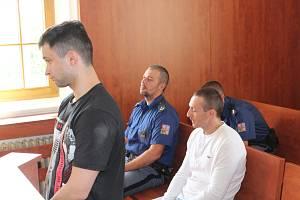 Odsouzení Roman Wannermacher a Miroslav Mužík.