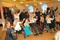 Ples v Domu seniorů ve Kdyni.