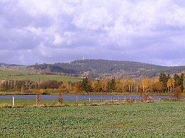 Vysílač Vraní vrch.