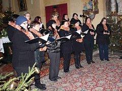 Tříkrálový koncert v kostele sv. Martina Klenčí.