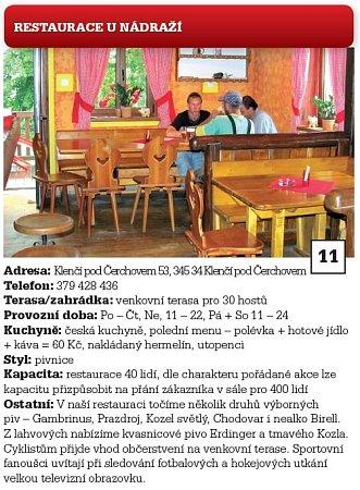 11.Restaurace UNádraží.