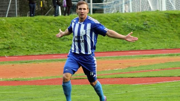 Fotbalista Petr Došlý.