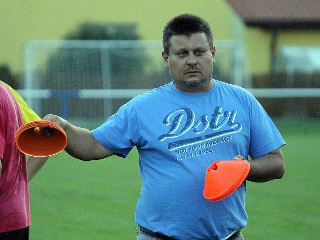 Trenér Štěpán Hirschl.