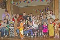 Dětský maškarní karneval v Pasečnici