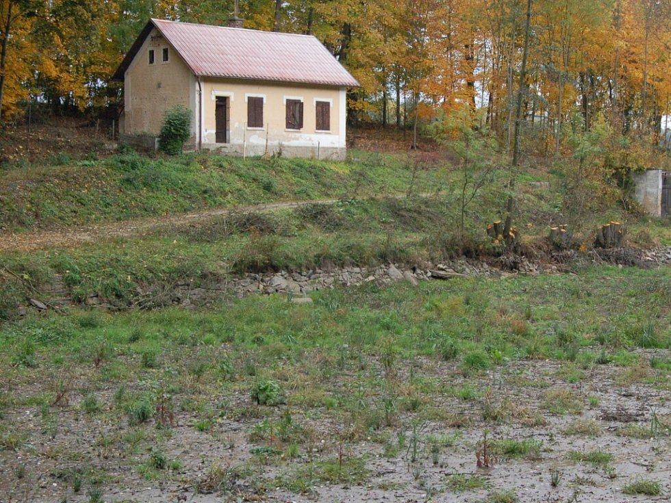 Lokalita Jezero v Domažlicích.