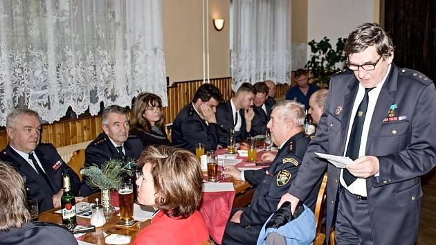 Valná hromada sborů dobrovolných hasičů 10. okrsku.