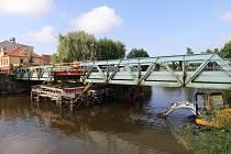 Most v Horšovském Týně rozebírají, uzavírka potrvá do konce roku
