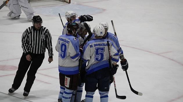 Domažličtí hokejisté zvítězili v Kaznějově.