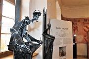 Z výstavy Magičtí Lucemburkové v Muzeu Chodska.