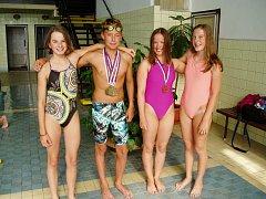 Mladí plavci Jiskry Domažlice za sebou mají úspěšné období.