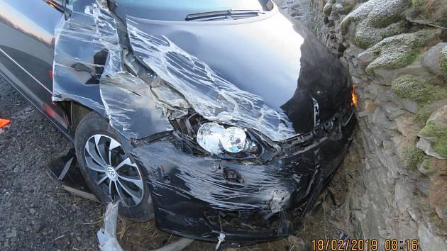 Nehoda u Polžic.