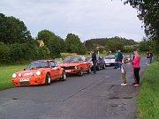 STARTOVNÍ POLE ADAC-Bayerwald-Rallye Classic je každý rok plné krásných aut nedávné minulosti.