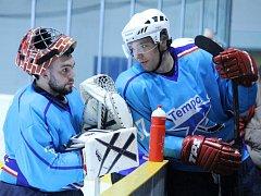 Momentka z utkání hokejistů HC Tempo Staňkov.