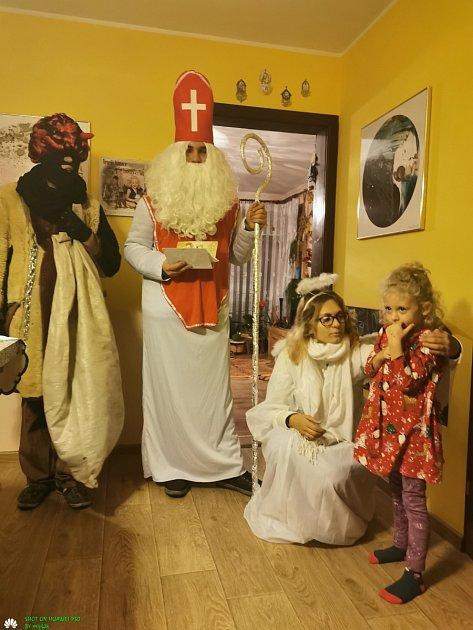 Mikulášská nadílka ve Starci.