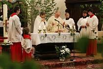 Slavnost Božího těla v Horšovském Týně.