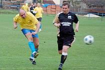 V dohrávce Ligy seniorů diváci v Krchlebech viděli duel domácích Krchleb s Holýšovem. Za oba celky nastoupila řada fotbalových osobností.
