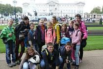 Všerubští školáci ve Velké Británii.