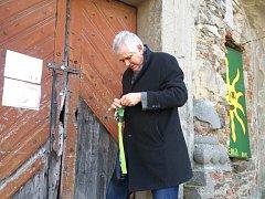 Poběžovice v úterý navštívil bavorský spisovatel Bernhard Setzwein.
