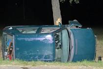 Nehoda v Mrákově.