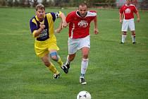 Zápas Chodova s Klenčím nabídl urputný fotbal. Derby nechtěl prohrát ani jeden tým.