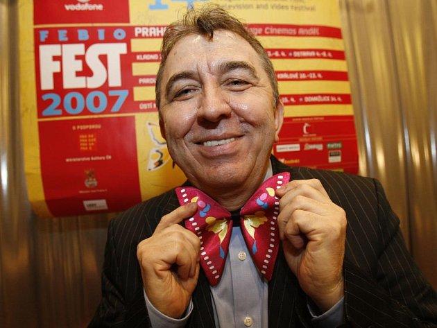 Ředitel festivalu FEBIOFEST 2007 Fero Fenič