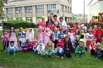Děti z Mateřské školy v Benešově ulici v Domažlicích