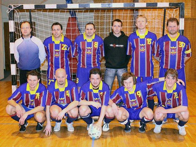 Společný snímek futsalistů SK Bomber Domažlice.